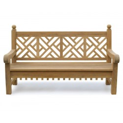lattice back bench - 1.8m