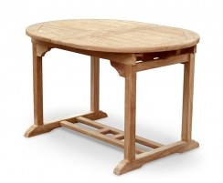 Brompton Bijou Double Extendable Table – Closed