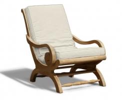 Capri Plantation Chair Cushion, Lazy Chair Cushion