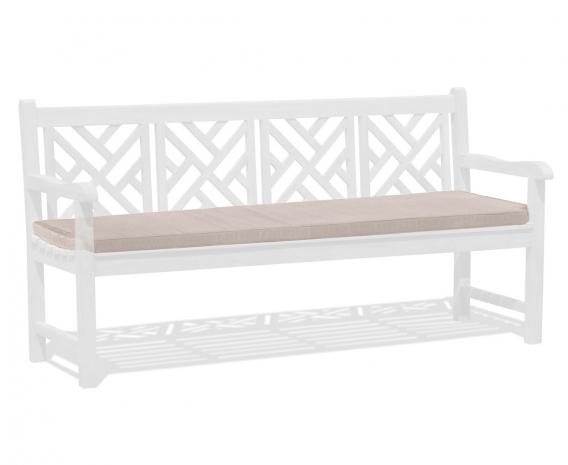 Garden Bench Cushion, 4 seater – 6ft/1.8m