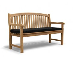 traditional outdoor park bench