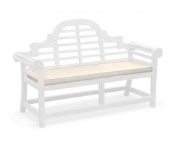Lutyens-Style 3 Seater Garden Bench Cushion