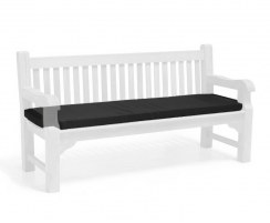 Outdoor Bench Seat Cushion, 4 seater – 6ft/1.8m
