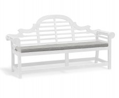 Lutyens-Style 4 Seater Garden Bench Cushion