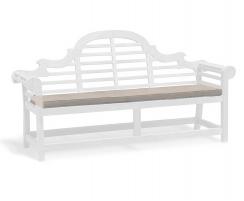 Lutyens-Style 4 Seater Garden Bench Cushion