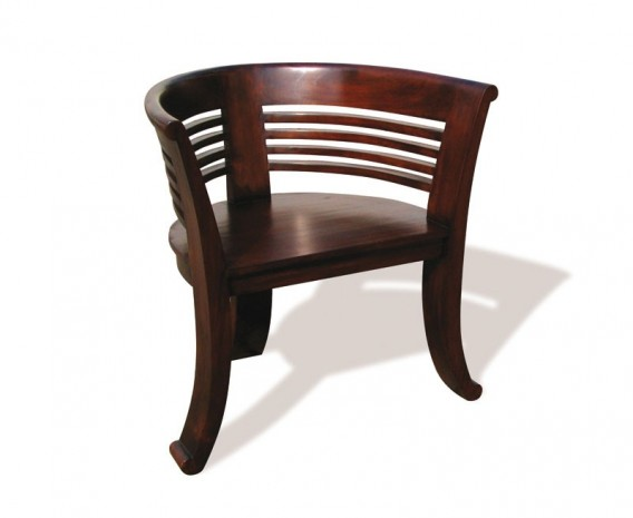 Kensington Indoor Deco Chair, Reclaimed Teak