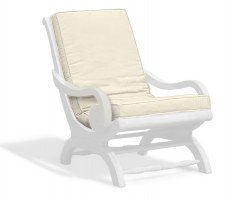 Capri Plantation Chair Cushion, Lazy Chair Cushion