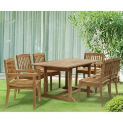 6 Seater Garden Dining Set