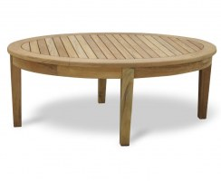Aria Teak Oval Coffee Table