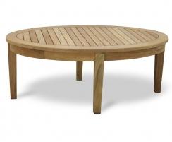 Aria Oval Teak Coffee Table
