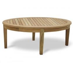 Aria Teak Oval Coffee Table