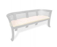 Kensington 3 Seater Bench Cushion, Indoor Bench Cushion