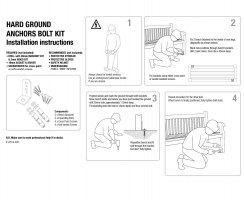 Hard Ground Anchors Installation Instructions