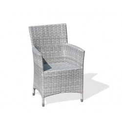 Riviera Grey Marble Armchair
