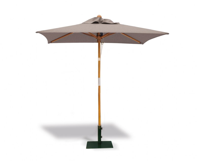 Square Tilting Outdoor Parasol - 2m