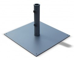 Large Parasol Base, Square, Grey – 20kg