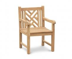 Princeton Teak Garden Armchairs