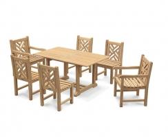 Princeton 6 Seater Garden Dining Set