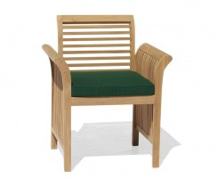 Aero Garden Chair Cushion, Outdoor Patio Furniture Cushion Green