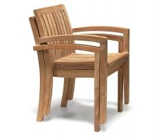 Monaco Stacking Garden Armchair