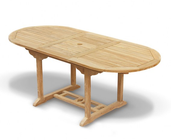 Bali Bijou Extendable Teak Table - 1.5-2m