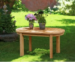 Wimbledon Oval Coffee Table