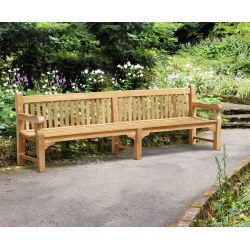 Balmoral Large Sturdy Park Public Bench – 3m