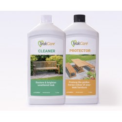 Teak Cleaner and Protector Kit