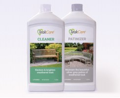 Teak Cleaner and Patinizer Kit