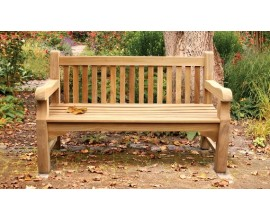 Teak Garden & Outdoor Benches | Memorial Bench | Tree Seats | Lutyens