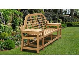 Cheltenham Benches | Decorative Garden Benches | Teak Garden Benches