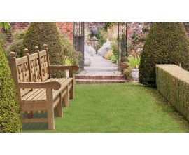 Chiswick Benches | Teak Garden Benches | Decorative Outdoor Benches