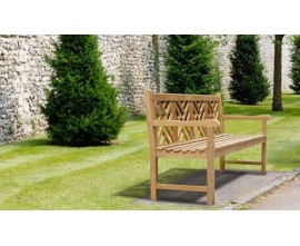 Princeton Benches | Lattice Benches | Decorative Garden Benches