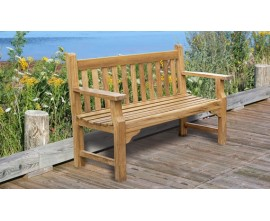 Taverners Benches | Traditional Garden Benches | Wide Armrests