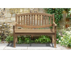 Two Seater Garden Bench | 2 Seater Wooden Benches | Small Teak Benches