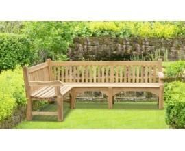 Corner Bench | Corner Garden Bench | Outdoor Corner Bench
