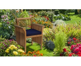 Aero Chairs | Decorative Chairs | Teak Garden Armchairs