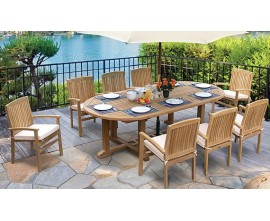Teak Garden Table and Chairs | Teak Outdoor Dining Sets