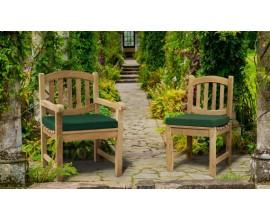 Ascot Chairs | Teak Garden Armchairs