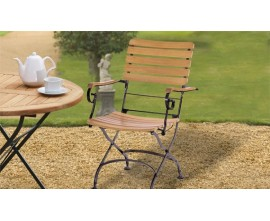 Teak Bistro Chairs | French Bistro Chairs | Bistro Garden Chairs