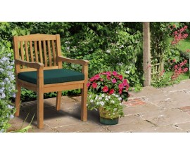 HIlgrove Chairs | Teak Garden Chairs | Outdoor Dining Chairs