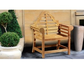 Lutyens-Style Chairs | Teak Accent Chair | Lutyens-Style Garden Chairs
