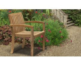 Monaco Chairs | Teak Garden Chairs | Stacking Chairs