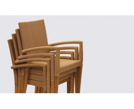 St. Tropez Chairs | All Weather Wicker Chairs | Stacking Chairs