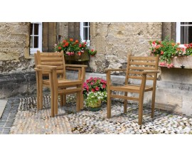 Yale Chairs | Teak Garden Chairs