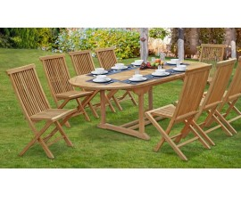 Ashdown Dining Sets | Teak Garden Furniture Sets