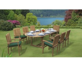 Santorini Dining Sets | Teak Garden Furniture Sets