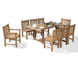 Windsor Dining Sets | Teak Garden Furniture Sets