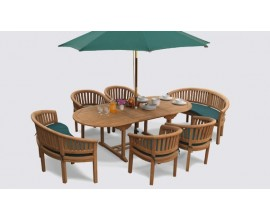 Wimbledon Dining Sets | Teak Garden Furniture Sets