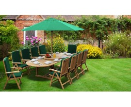 10 Seater Garden Table and Chairs | 10 Seater Dining Sets